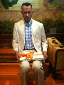 Photo of Los Angeles Madame Tussauds Hollywood Tom Hanks as Forrest Gump
