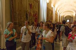Photo of Rome Skip the Line: Vatican Museums Walking Tour including Sistine Chapel, Raphael's Rooms and St Peter's Tour inside Vatican Museum