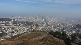 View from Twin Peaks , RD - February 2014