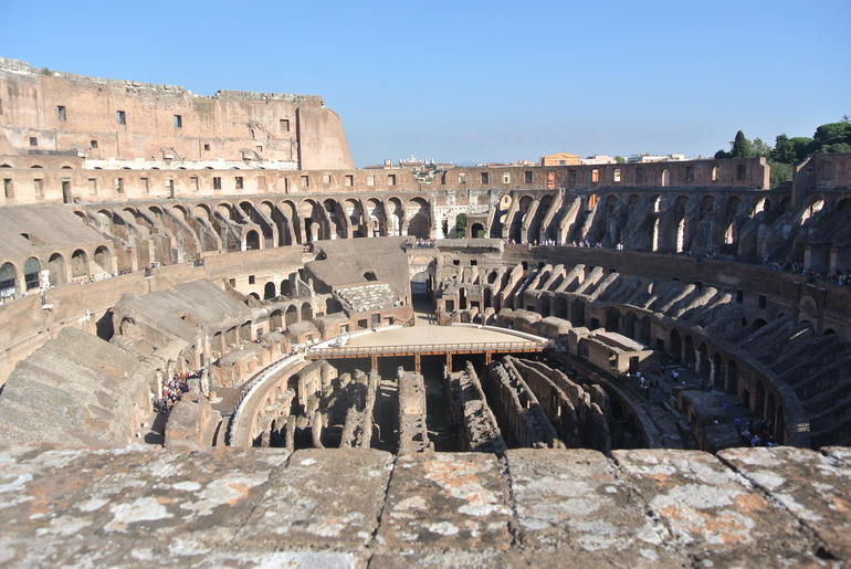 View from the Upper Tier of the Colosseum - Rome