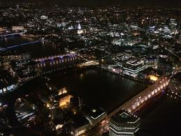 Beautiful view of London at night, Bandit - January 2014