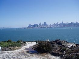 Shows just how close San Francisco is from Alcatraz., Wendy D - September 2007