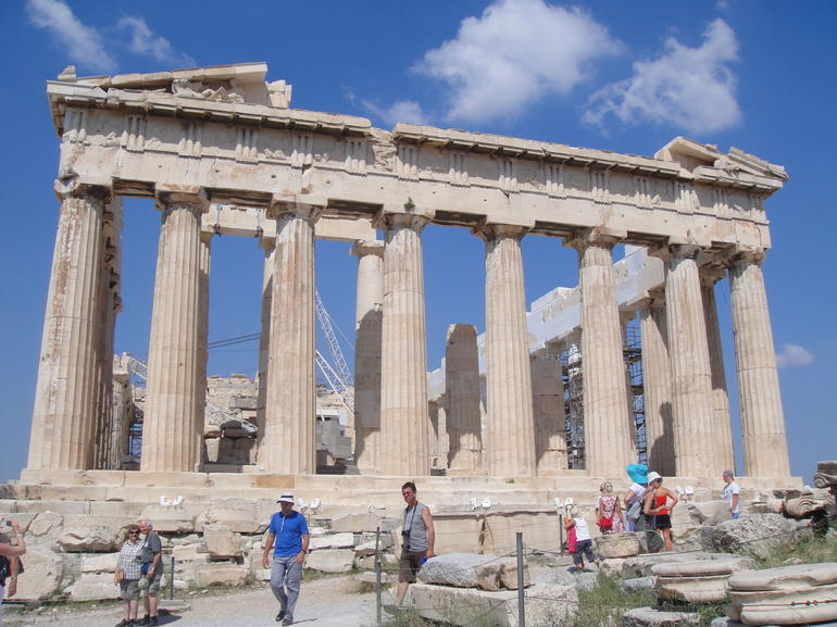 Acropolis Walking Tour - Athens