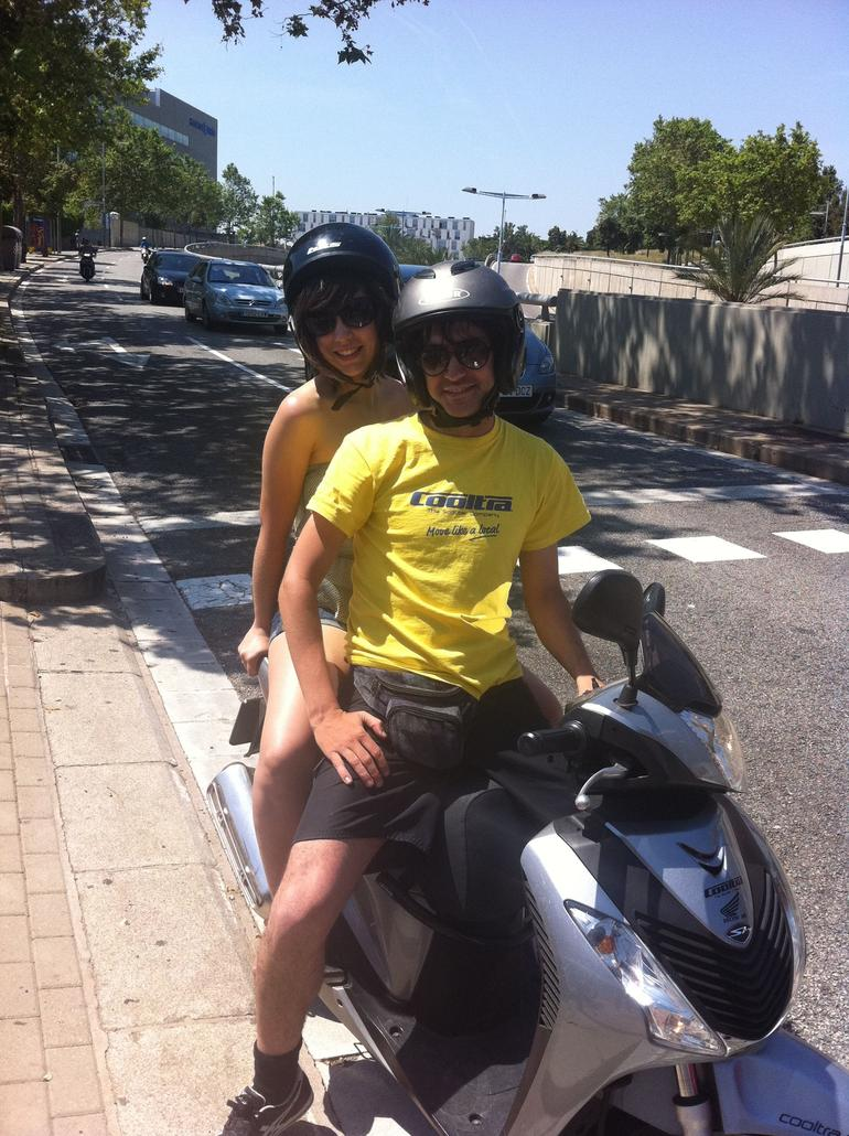 Barcelona Coastal Tour by Scooter - Barcelona
