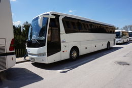 There were about 20 of us in the tour group - hence, lots of room to sit anywhere in this big bus. However, there was no toilet on board but there were stops every 2-3 hours for breaks. , Live 4 Sights - June 2015
