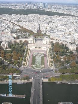 More fantastic views of Paris from top of Eiffel Tower, A W - September 2010
