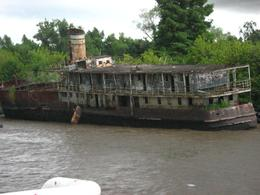 Old boats that stimulate imagination on the Tigre Delta, Angelika G - February 2010