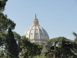 St. Peter's View at the Vatican , Michelle L - June 2011
