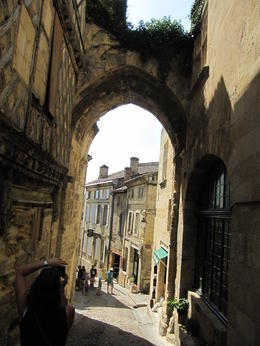 Photo of Bordeaux Small-Group St Emilion Half-Day Trip from Bordeaux Entrance to the heart of the village