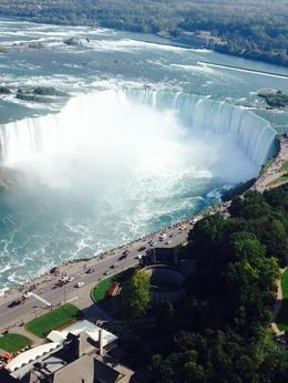 View from the Skylon Tower , Mrs R N W - September 2015