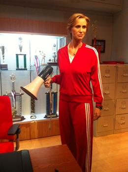 Photo of Los Angeles Madame Tussauds Hollywood Jane Lynch as Sue Sylvester