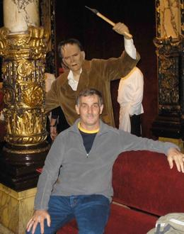 Most figures can be posed with as this one with Boris Karloff shows., Jill - January 2010