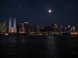 A view of the moon shining over New York, Snaeha K - July 2009