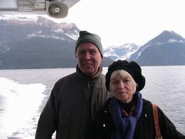 Photo of Queenstown Doubtful Sound Wilderness Cruise from Queenstown On the Deck of the 'Robert Timms'