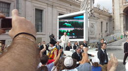 Photo of Rome Papal Audience Tickets and Presentation Passage du pape