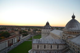 View from the top of the leaning tower. , Danielle R - November 2015