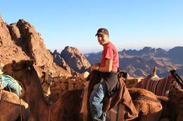 The camel ride on Mt. Sinai was very memorable! , Michael B - January 2011