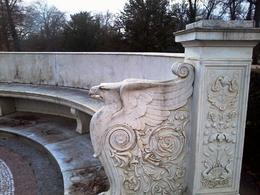A detail from the gardens at Sanssouci palace , A G - January 2014