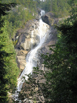 Photo of Vancouver Whistler Small Group Day Trip from Vancouver Shannon Falls