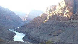 Photo of Las Vegas Viator VIP: Grand Canyon Sunset Helicopter Tour with Dinner The Colorado River