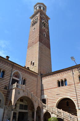 Photo of Verona Verona City Hop-on Hop-off Tour Tower and Staircase