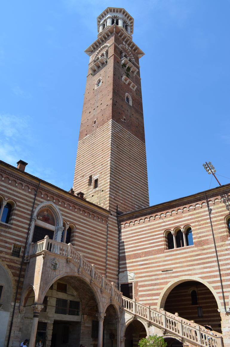 Tower and Staircase - Verona