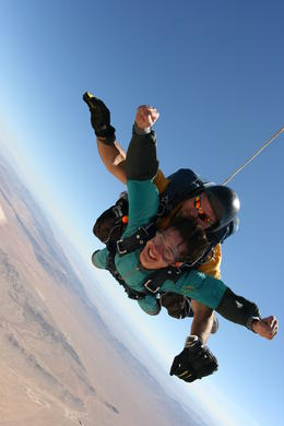 Photo of Las Vegas Las Vegas Tandem Skydiving Vegas Skydiving experience