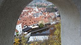 Amazing views of the Lower Town from the Castle Bridge , Julian S - November 2015