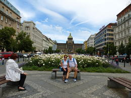 Photo of Prague Private Walking Tour: Mala Straná, Prague Castle and St Vitus Cathedral Wenceslas Square