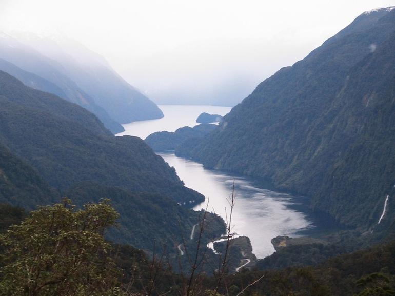Approaching Doubtful Sound from the Rain Forest - Queenstown