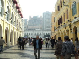 at the city center along its charming cobblestone streets and past quaint shops , Evelyn Virador P - April 2013