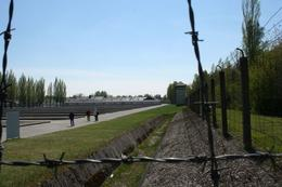 Photo of Munich Dachau Concentration Camp Memorial Small Group Tour from Munich Barbed Wire