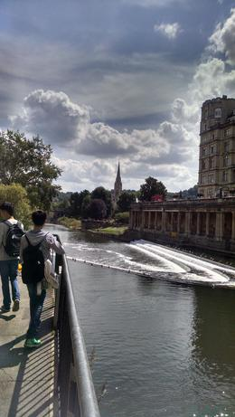 One of the many beautiful bridges in Bath , Vida V W - August 2014