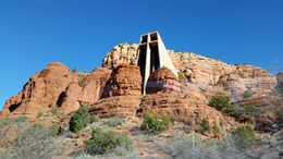 Photo of Phoenix Small-Group Deluxe Grand Canyon and Sedona Day Trip Chapel of the Holy Cross