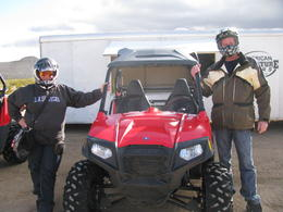 Photo of Las Vegas Hidden Valley and Primm Valley Extreme RZR Tour from Las Vegas Dec.26/12