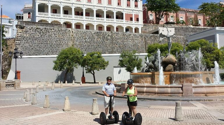 we didn't think we would be comfortable on the segway, but we we're wrong...it was great!