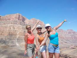 L to R: Linda, Me (Sam) and Charlotte enjoying some free time on the Canyon , Samantha T - September 2012