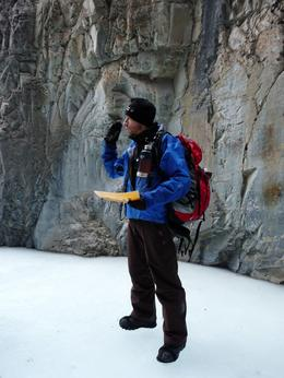 Photo of Banff Grotto Canyon Icewalk Guide