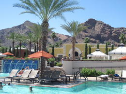A shot of our resort, the Montelucia Resort in Paradise Valley , Marlene C - June 2012