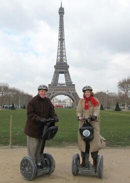 An awesome birthday celebration. The perfect package: Segway ride, wonderful tour guide, and Paris., Jeanne L - February 2010