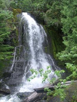 A waterfall, Margaret A - July 2010