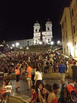 Night Segway tour, Spanish Steps, AlexB - July 2012
