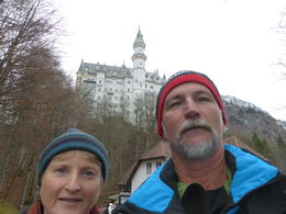 Neil and Sharon in a selfy at Neuschwanstein Castle , Sharon P - January 2015