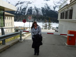 just arrived in st moritz , John D - April 2012