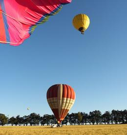 Photo of Melbourne Yarra Valley Balloon Flight at Sunrise Sister Balloons Also Coming In