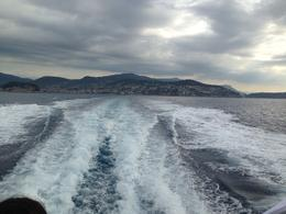 Photo of Nice Ferry to St Tropez from Nice the land behind