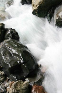 More of the gorgeous waterfalls by the lake of Emei Shan - June 2012