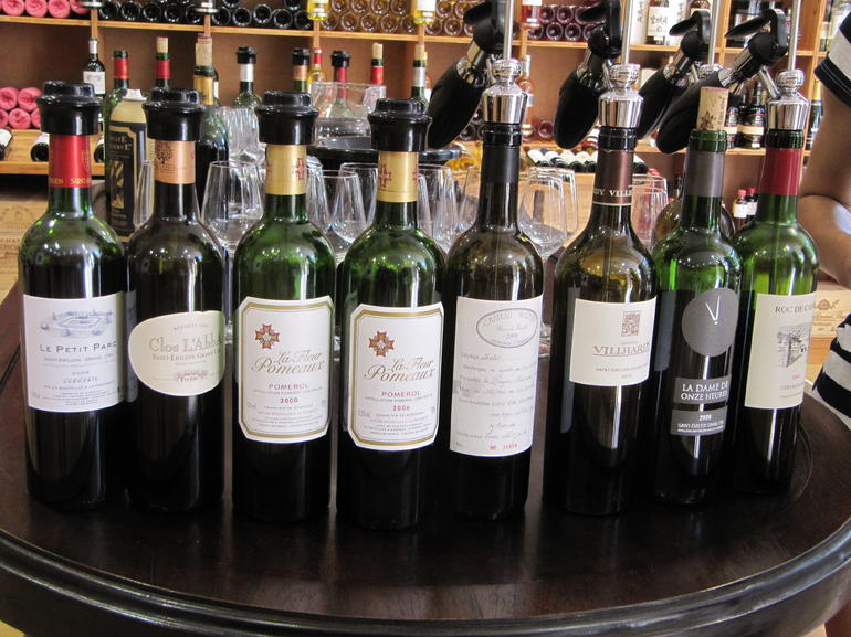 Wines from our wine tasting - Bordeaux