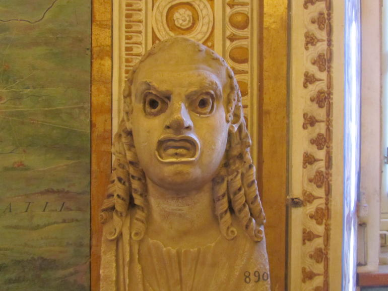 A marble face - Rome