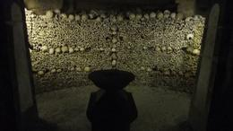 Photo of Paris Skip the Line: Catacombs of Paris Small-Group Walking Tour Alter room on the Paris Catacombs Tour